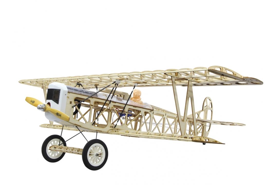 FOKKER D VII 1200mm CNC Lasercut  kit