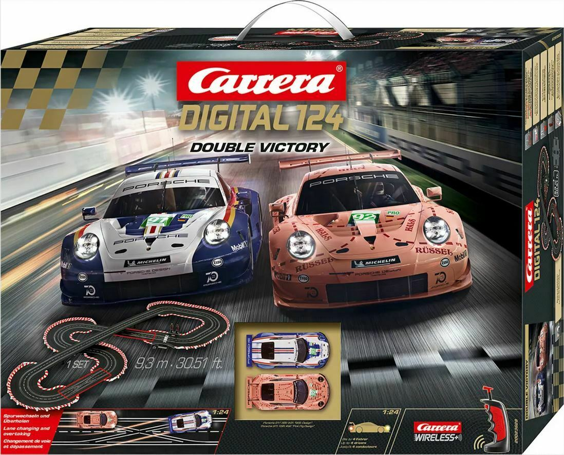 Carrera DIG24 23628 Digital Double Victory 1:24 Scales/Track