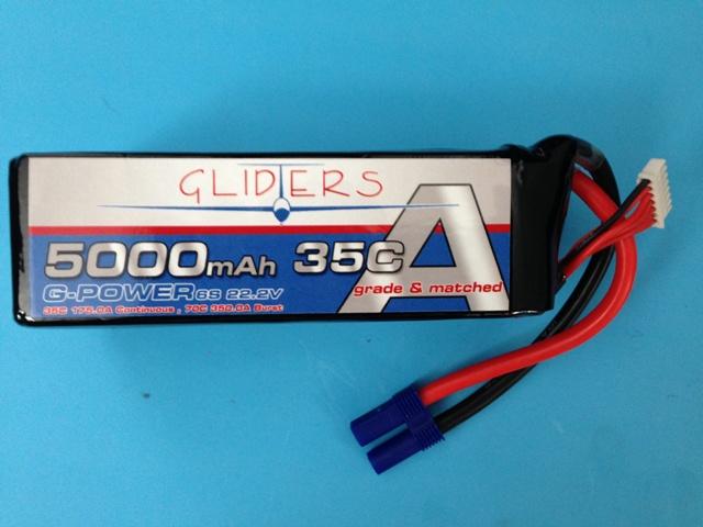G-Power 5000mah 35C 6S Lipo