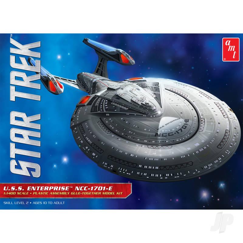 AMT 1:1400 Star Trek U.S.S. Enterprise 1701-E Plastc Kit