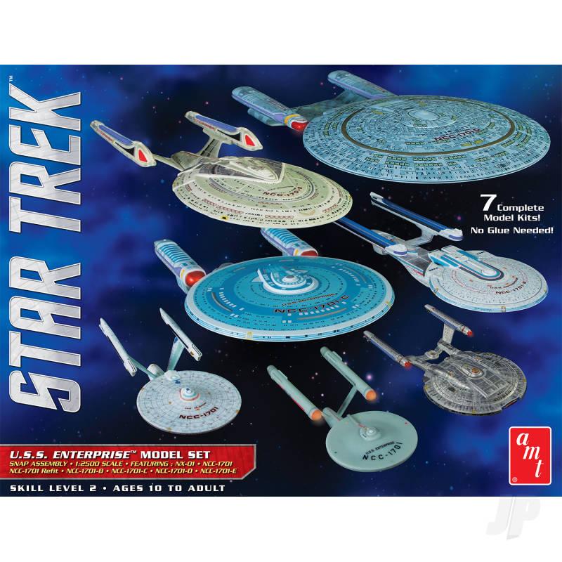 Star Trek U.S.S. Enterprise Box Set - Snap 1:2500 Scale