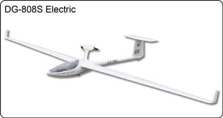 FlyFLy DG808S Electric GLider 4.0M with Motor & Folding Prop
