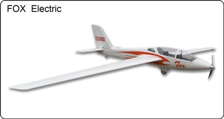 FlyFLy Fox Electric Glider 3.0M with Motor & Folding Prop