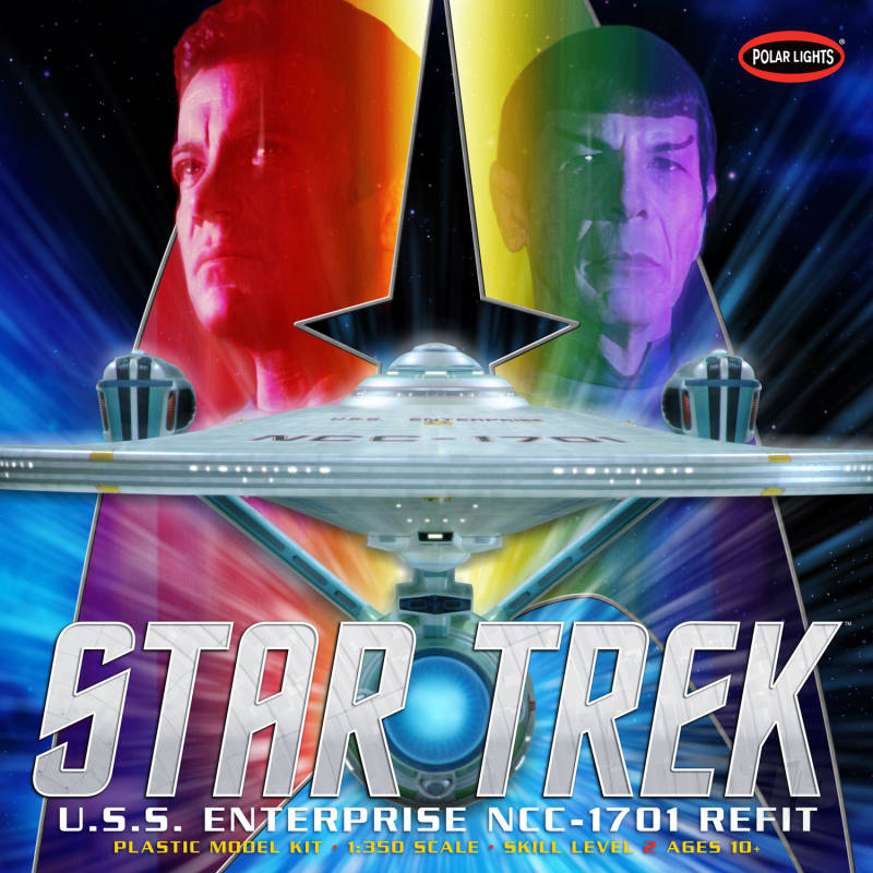 Star Trek U.S.S. Enterprise Refit 1:350 Scale Plastic Kit