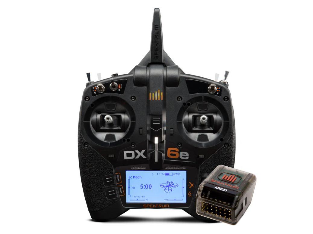 Spektrum DX6e 6CH System w/ AR620 Receiver SPM6655EU