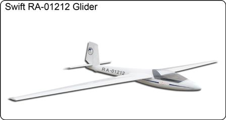 FlyFly Swift S-1 2.5M Glider with Brake & Retract