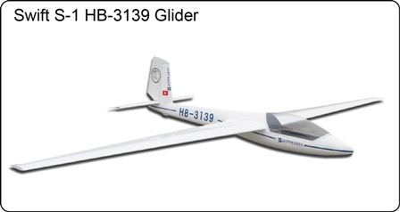 FlyFly Swift S-1 2.5M Glider with air Brake & retract Wheel