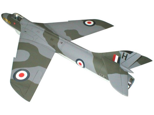 West wings Hawker Hunter EDF Jet kit 707mm winspan