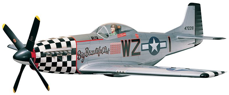 Top Flites P-51D Mustang .60 Gold Edition Kit